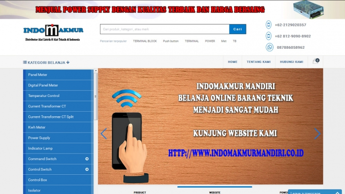 Indomakmur Mandiri Website