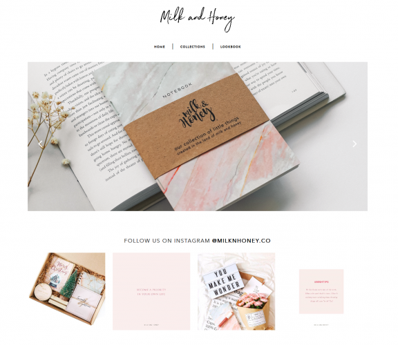 Milk and Honey - Online Catalogue